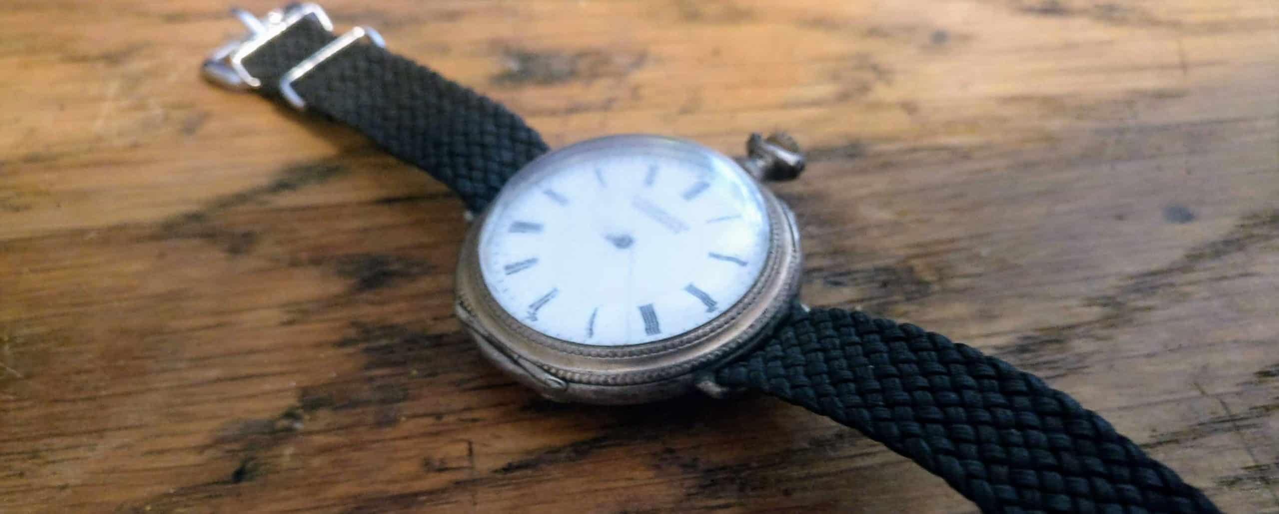 Fra klokketårn til armbåndsur